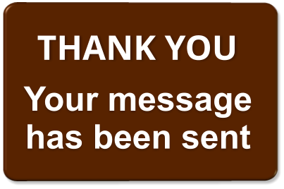THANK YOU Your message has been sent